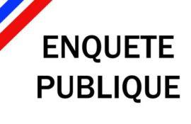 Information : Enquête publique