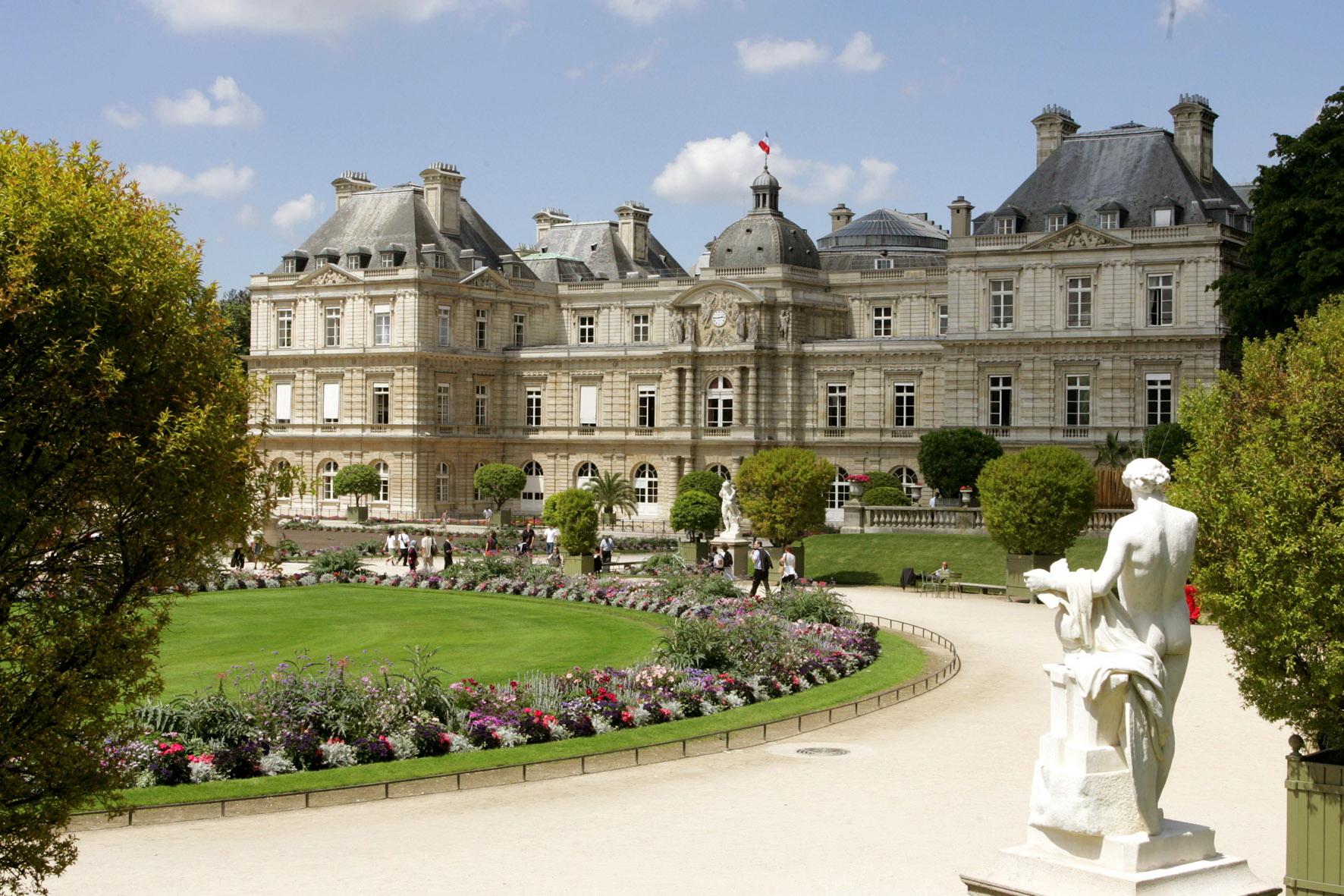 Façade Sud, côté Jardin du Luxembourg © Sénat (Crédit photo Sénat)