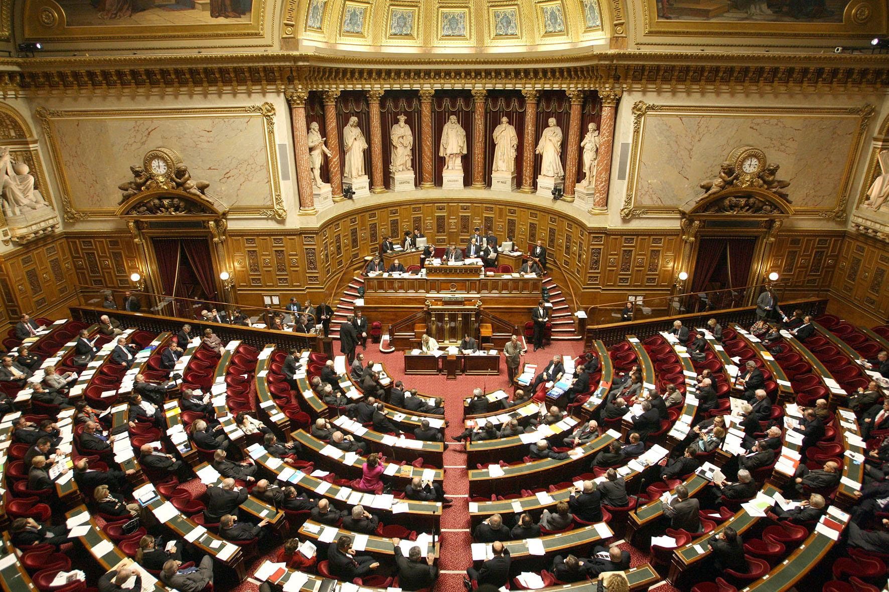 Hémicycle © Sénat (Crédit photo Sénat)