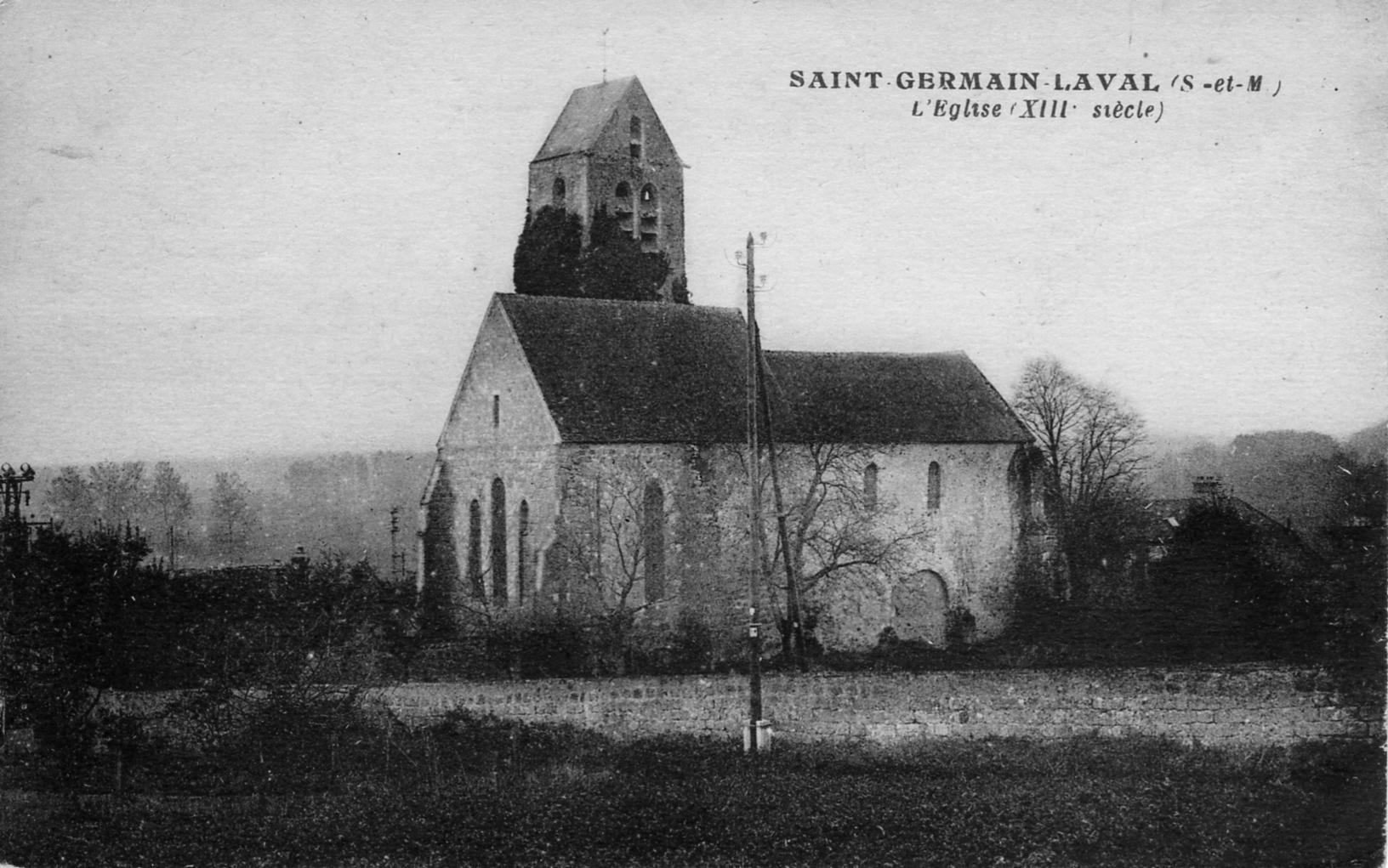 L'église en 1930 3