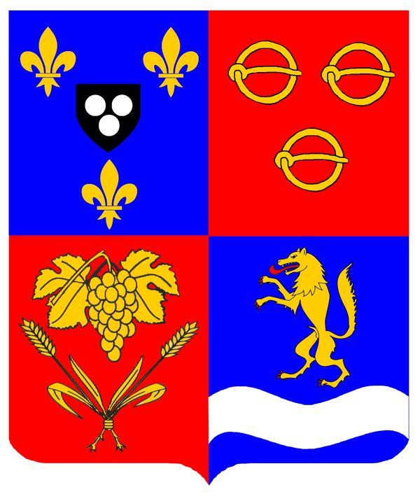 Blason officiel de Saint-Germain-Laval